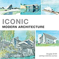 New watercolour book of iconic modern architecture