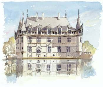 A large picture of Azay le Rideau