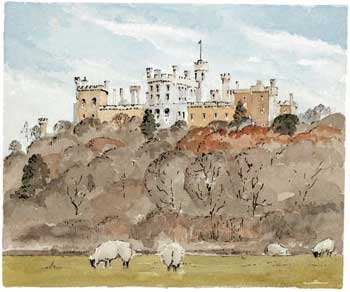 A large picture of Belvoir Castle