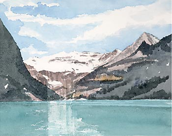 A large picture of Lake Louise, Canada