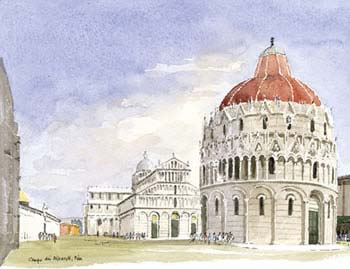 A large picture of Pisa