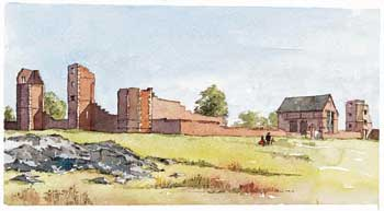 A large picture of Remains of Bradgate House